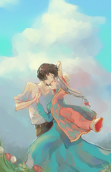 howl and sophie by chocuu