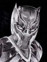 Black Panther (MCU version) by danielcamilo
