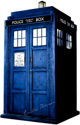 TARDIS PNG by EmilieBrown