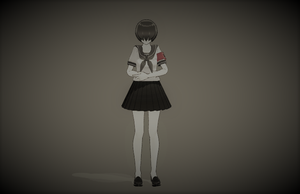 I am nothing - Yandere Simulator [MMD] by himi-ko