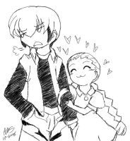 Request- Enzan and Yaito by mandy-kun