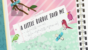 MLP EQG Littel Birdie told me part Name by Wakko2010