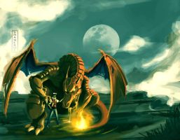 Charizard Concept Art by ShaneBot