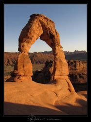 Delicate Arch by Crooty