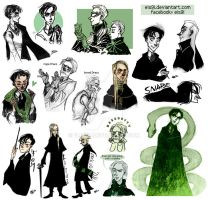 Slytherin guys by ElisEiZ
