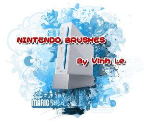 Nintendo Brushes by vinh291