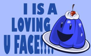 I IS A LOVING U FACE by eecomics