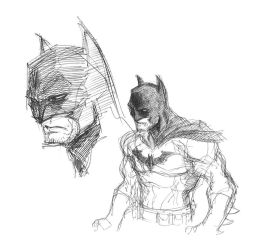 Batman sketch by rook-over-here