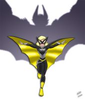 The Bat-Girl Revealed by SAS-Art72