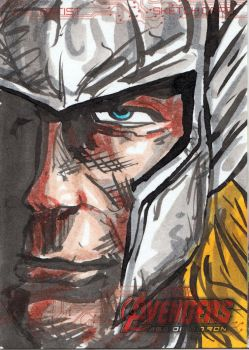 Avengers Sketch Card 2014  82 by FWACATA