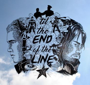 Til the END of the LINE PAPER CUTTING by Snowboardleopard