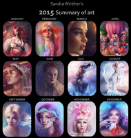 My art summary by SandraWinther