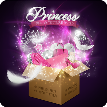 Princess png pack by iamszissz