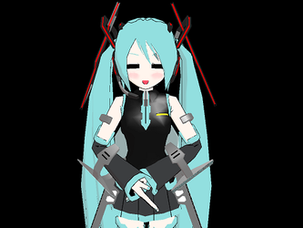 LOL. Miku Does Da DX SUCK IT by nomiverly110