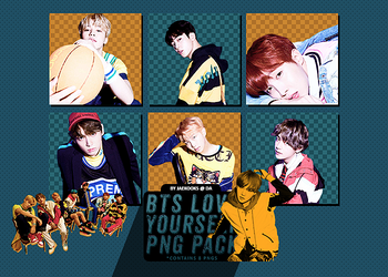 BTS PNG PACK #2 | LOVE YOURSELF : HER (E VER.) by jaekooks