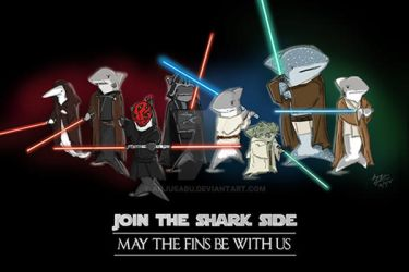 Join The Shark Side! by anjusabu
