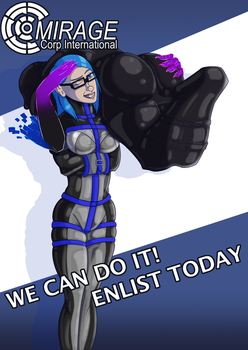 Mirage: WE CAN DO THIS! [Version A] by hollowmask