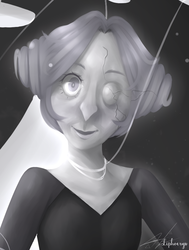 White Pearl closeup by Liphoeryx