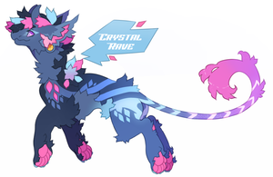 {Bowerbeast Auction} - Crystal Rave [Closed] by X88B8