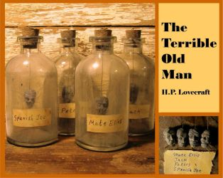 H.P. Lovecraft's - The Terrible Old Man by zombiequadrille