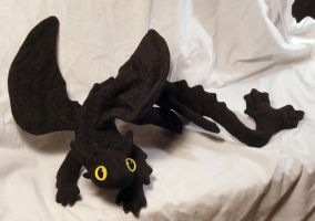 Nightfury - Toothless on white by stephanielynn