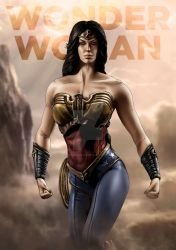 Injustice Wonder Woman by Progenitor89