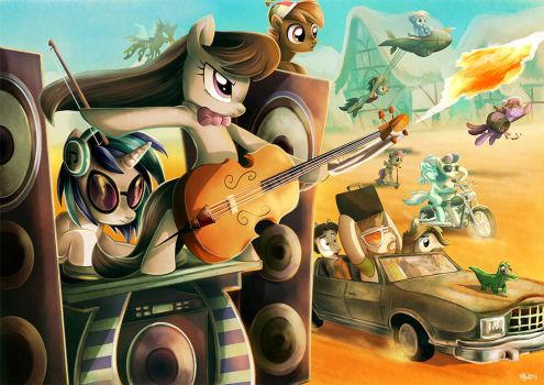 Mad Pony : Friendship Road by Adlynh