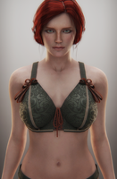 Witcher 3 - Triss Merigold by saqune