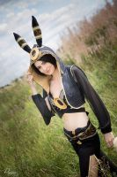 Umbreon Gijinka by WhiteSpringPro