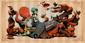 courting with otto by BrianKesinger