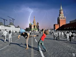 Red square run by Jasper-M