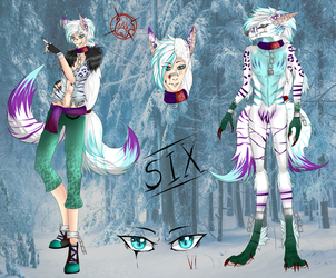 -Six- werwolf full ref by xXFireStarryXx