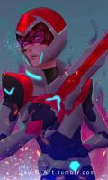 Keith - Voltron: Legendary Defender by FadeIntoCosmos