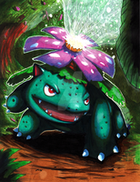 Venusaur used Solarbeam by Pixelated-Takkun