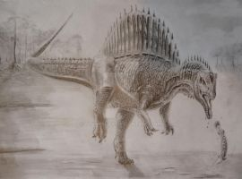Spinosaurus IV by Polihierax