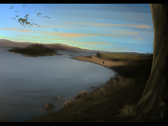 Bay- painting practice by MotherFrost