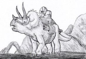 Rulon Triceratops by EricMHE