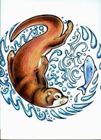 Otter by Lenore103