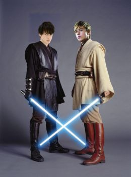 Padawan's Peter and Edmund by Kittypie323