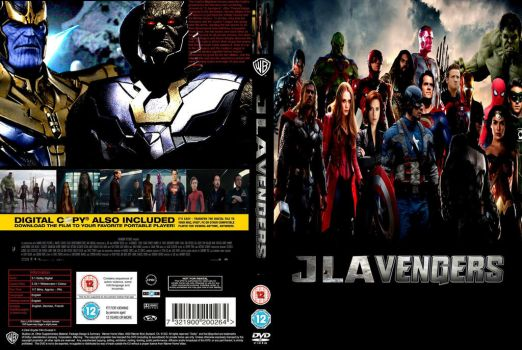 JLAvengers movie DVD cover by SteveIrwinFan96