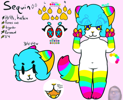 new sequin ref by cranberryz