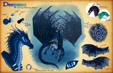 Deepsea Reference Sheet by xTheDragonRebornx
