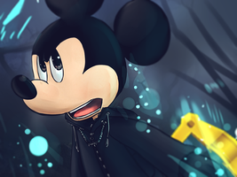 Kingdom hearts - King Mickey by Phinbella-Flynn