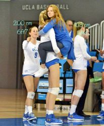 Ucla Women's vball players by zaratustraelsabio