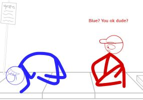 Dick Figures_Red and Blue_Late that night_pt.8.7 by Kimiko140
