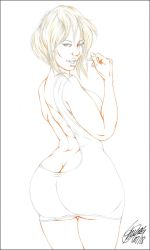 HOLLI WOULD PENCIL by ARTofTROY