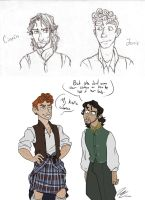 Jamie and Ciaran by HugaDuck