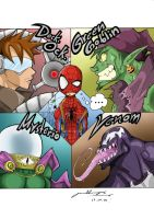 Spider-man and Foes by G-Chris