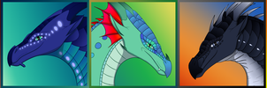 FREE Wings of Fire Dragonets of Destiny Icons by xTheDragonRebornx
