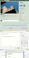 Visual Suggestion: HTML Links for Sharing by pica-ae